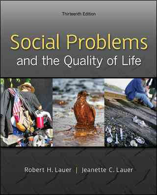 Social Problems and the Quality of Life By Lauer, Robert/ Lauer, Jeanette