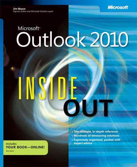 Microsoft Outlook 2010 Inside Out By Boyce, Jim